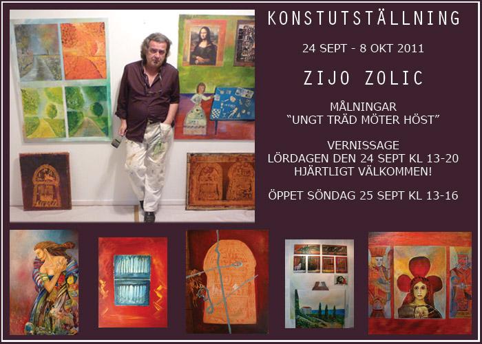 Zijo Zolic på Galleri 701